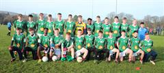 Senior Footballers bow out as South Leinster and Leinster champions...
