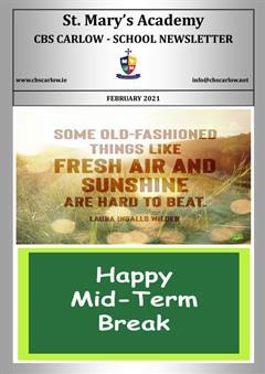 School Newsletter - February 2021